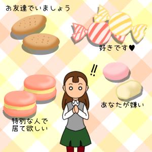 お菓子の意味