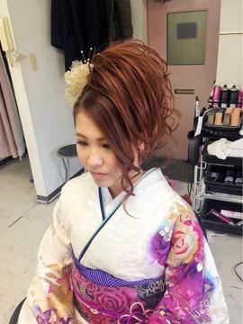 髪型 成人式髪型ロング編み込み : news-neta.com