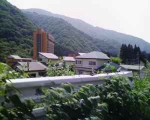 夏の湯瀬ホテル周辺