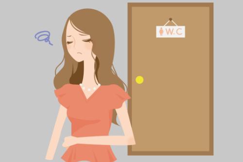 AC便秘に悩む女性